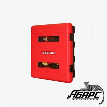 ПРЕСТИЖ-04 Шкаф пожарный, пластиковый, для двух огнетушителей: ОП-8, ОП-9, ОП-10