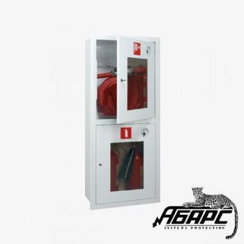 Пульс ШПК-320 ВОБ (Шкаф пожарный для пожарного крана и двух огнетушителей)