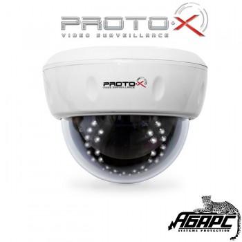 Видеокамера купольная цветная Proto-D02F36IR (Proto-X) белый корпус