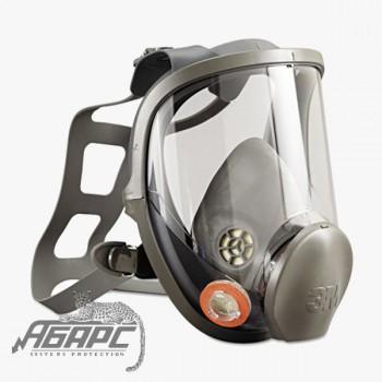 Респиратор 3М полнолицевая маска 6000