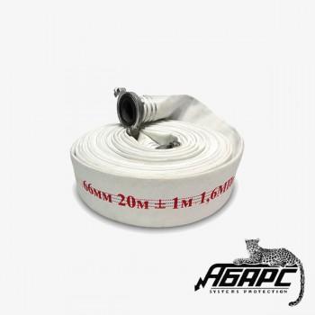 ПОЖКОМПЛЕКТ 65 мм «Стандарт» для ПТ до 1,6 МПа с головками ГР-65А, 20 метров (пожарный рукав)