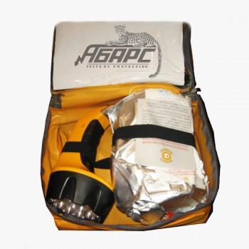 Самоспасатель фильтрующий Шанс-2Ф (маска и фонарь)