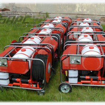 УПТВ-50/120 Установка пожаротушения тонкораспылённой водой (с баком)